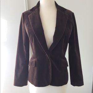 Jackets & Blazers - 🍃Smooth Brown Velvet Blazer
